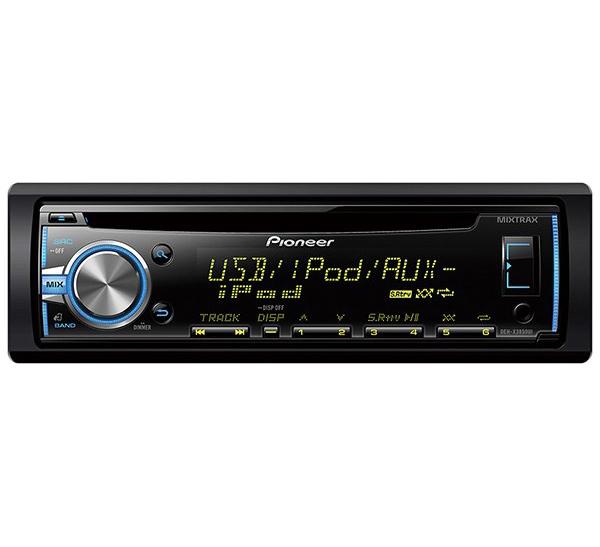 پخش کننده خودرو پایونیر مدل DEH-X3850UI - Pioneer DEH-X3850UI Car Audio